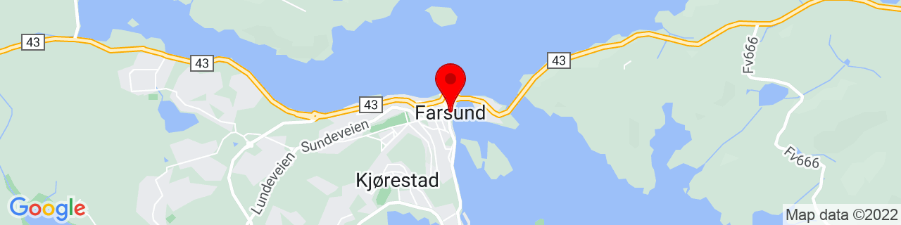 Google Map of 58.09492689999999, 6.805019600000037