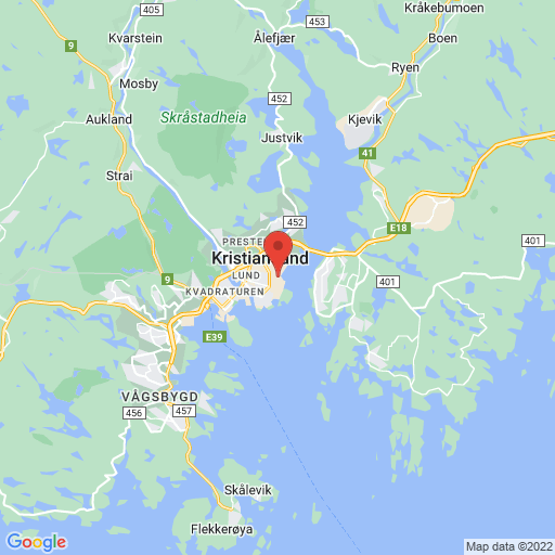 Sør Cup map