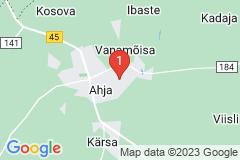 Google Map of Lomamökki - Ahja Põlvamaa