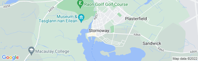 Map Of Stornoway