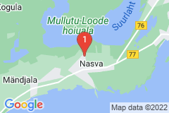 Google Map of Lomamökki Nasva