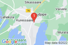 Google Map of Omakotitalo - Nõmme Saarenmaa