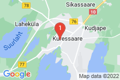 Google Map of Rivitalohuoneisto - Pikk/Kuressaare