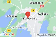 Google Map of Lomahuoneisto - Kolmio Garnisoni