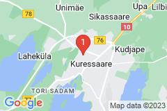 Google Map of Lomahuoneisto Kaksio Sepa