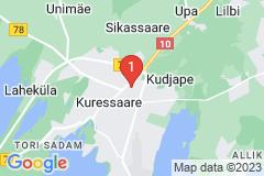 Google Map of Rivitalohuoneisto - Raja