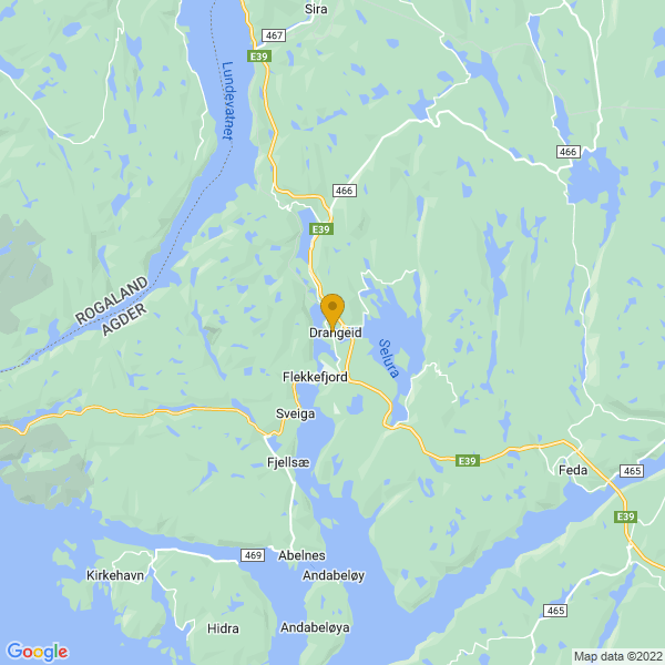 Google Map of 58.3118224,6.6705931