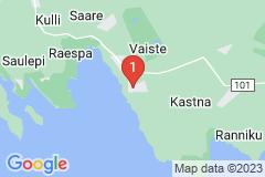 Google Map of Lomamökki Kastna Pärnumaa