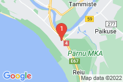 Google Map of Omakotitalo - Lembitu