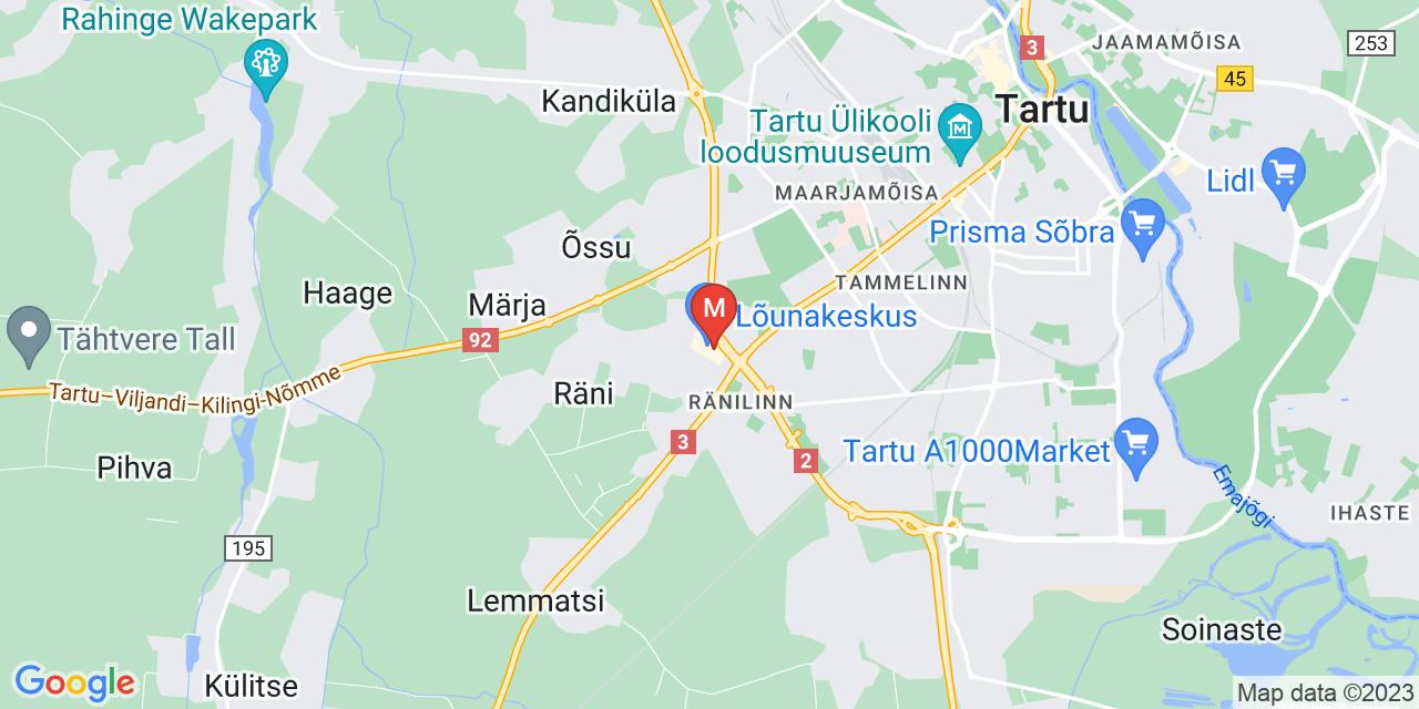 MyFitness Tartu Lõunakeskus