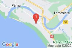 Google Map of Lomahuoneisto  - Kaksio Mai