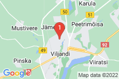 Google Map of Loma-asunto - Viljandi