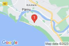 Google Map of Lomahuoneisto Kaksio Tammsaare