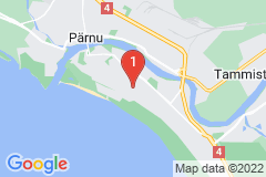 Google Map of Lomahuoneisto  Kaksio Karjamaa