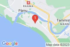 Google Map of Lomahuoneisto - Kolmio Karja