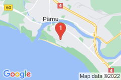 Google Map of Kaksio - Tammsaare