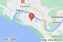 Google Map of Huoneisto - Kolmio Paju