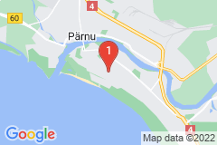 Google Map of Huoneisto  Aisa