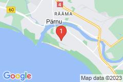 Google Map of Omakotitalo - Kajaka