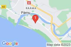 Google Map of Lomahuoneisto Kaksio Karja