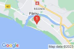 Google Map of Lomahuoneisto  Roosi