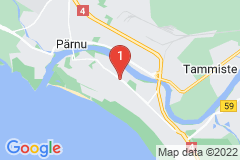 Google Map of Lomahuoneisto - Riia