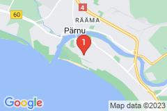 Google Map of Kaksikerroksinen osa omakotitalosta - Auli
