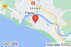 Google Map of Huoneisto - yksiö Tulbi