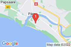 Google Map of Huoneisto kaksio - Supeluse