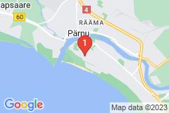 Google Map of Lomahuoneisto Supeluse