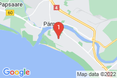 Google Map of Lomahuoneisto Kaksio Aisa