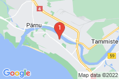 Google Map of Lomahuoneisto Kaksio Suur-Jõe