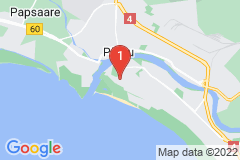 Google Map of Omakotitalon I kerros - Kerese Pärnu
