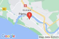 Google Map of Lomahuoneisto Kolmio Suur-Posti