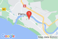 Google Map of Lomahuoneisto Suur-Posti