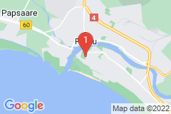Google Map of Huoneisto - Kaksio Vallikääru