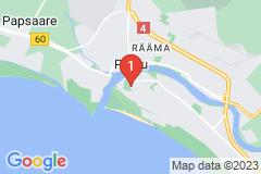 Google Map of Pärnu lomahuoneisto Kolmio Vana-Tallinna II