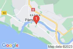 Google Map of Lomahuoneisto - Kolmio Pikk