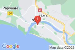 Google Map of Lomahuoneisto - Kolmio Vee