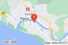 Google Map of Lomahuoneisto - Kolmio SuurJõe