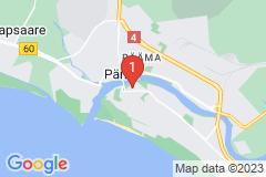Google Map of Huoneisto-kaksio -Aida