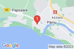 Google Map of Pärnu Omakotitalo - Peetri
