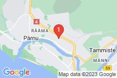 Google Map of Lomahuoneisto kolmio Rohu