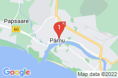 Google Map of Huoneisto - 5H+K Aru