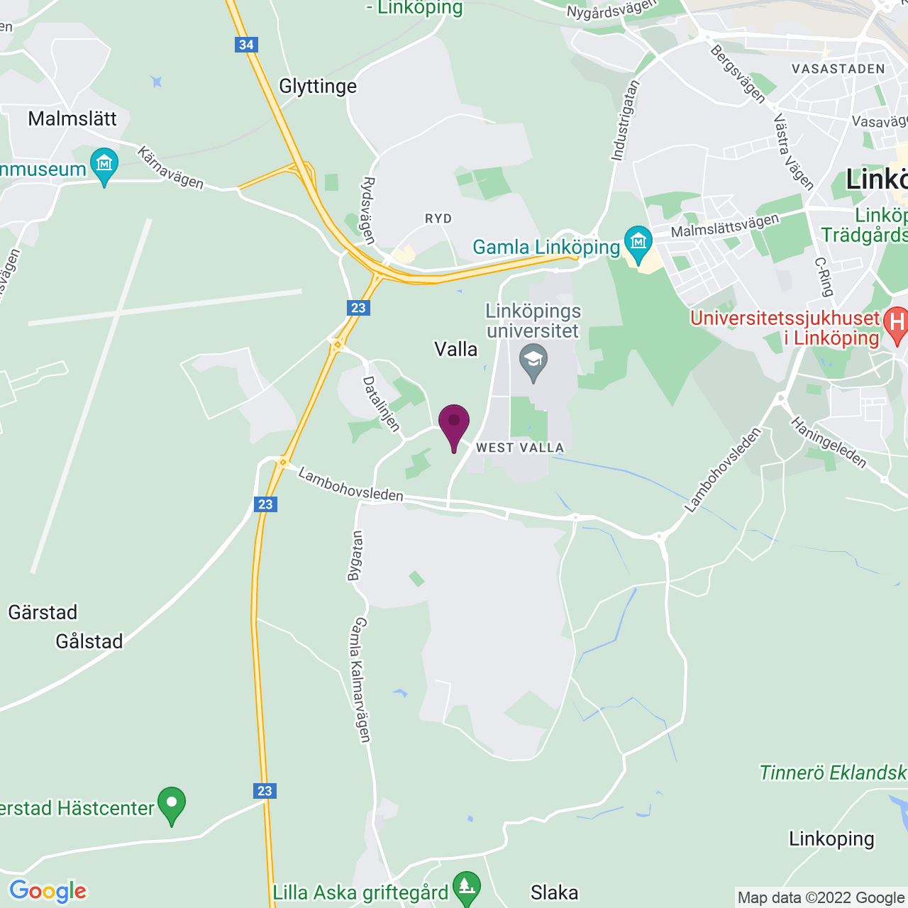 Map of Teknikringen 1 D
