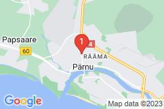 Google Map of Lomahuoneisto Tall-Pärnu