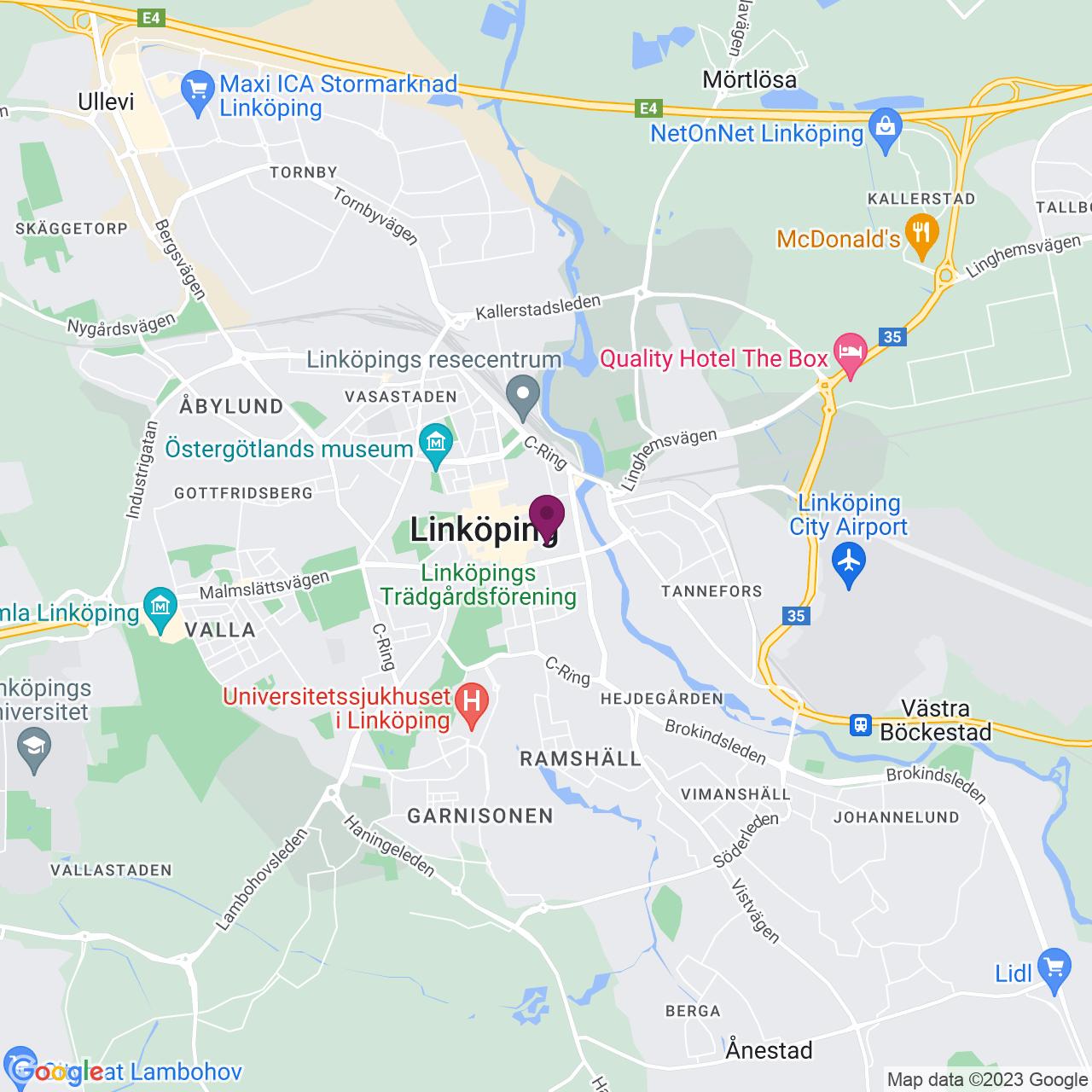 Karta över Repslagaregatan 31