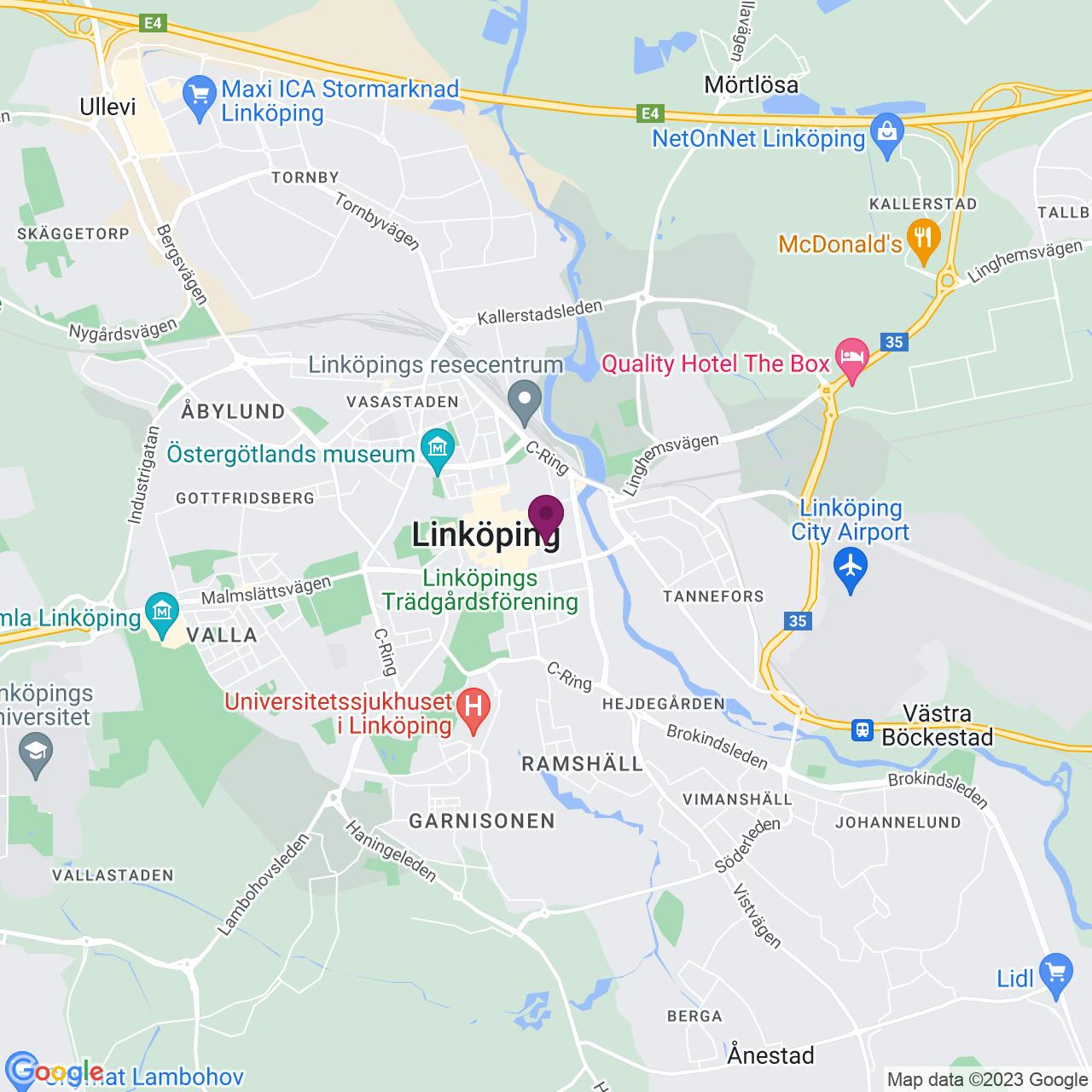 Karta över Nygatan 20