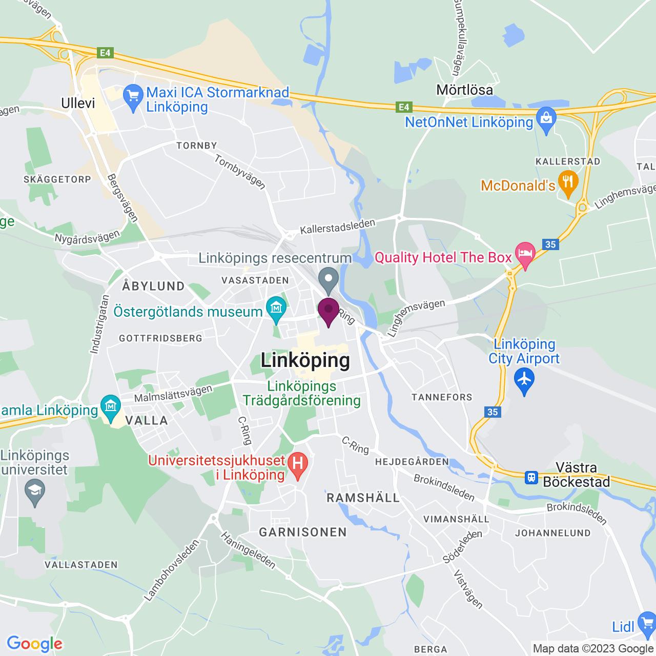 Kort över Gasverksgränd 2