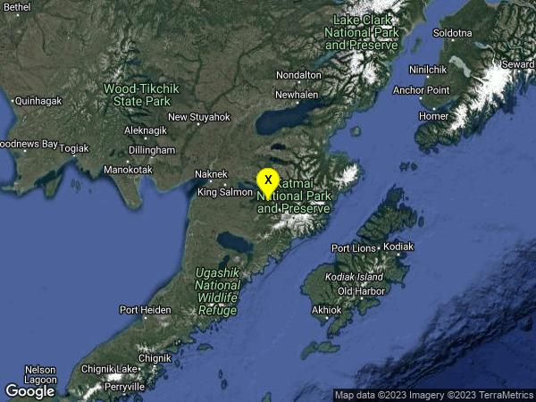 earthquake Alaska Peninsula